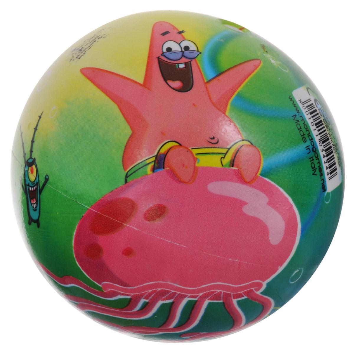 Мяч Mondo `Cпанч Боб`, 11 см, в  ...