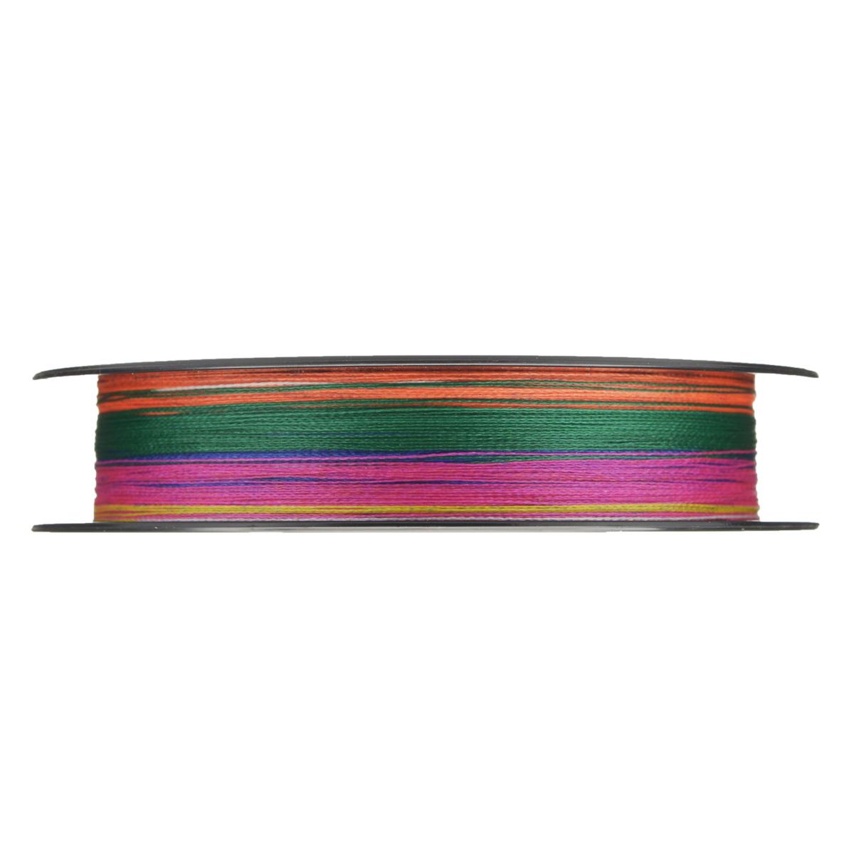 """Леска плетеная Allvega """"Bullit Braid"""", цвет: мультиколор, 150 м, 0,16 мм, 10,2 кг"""
