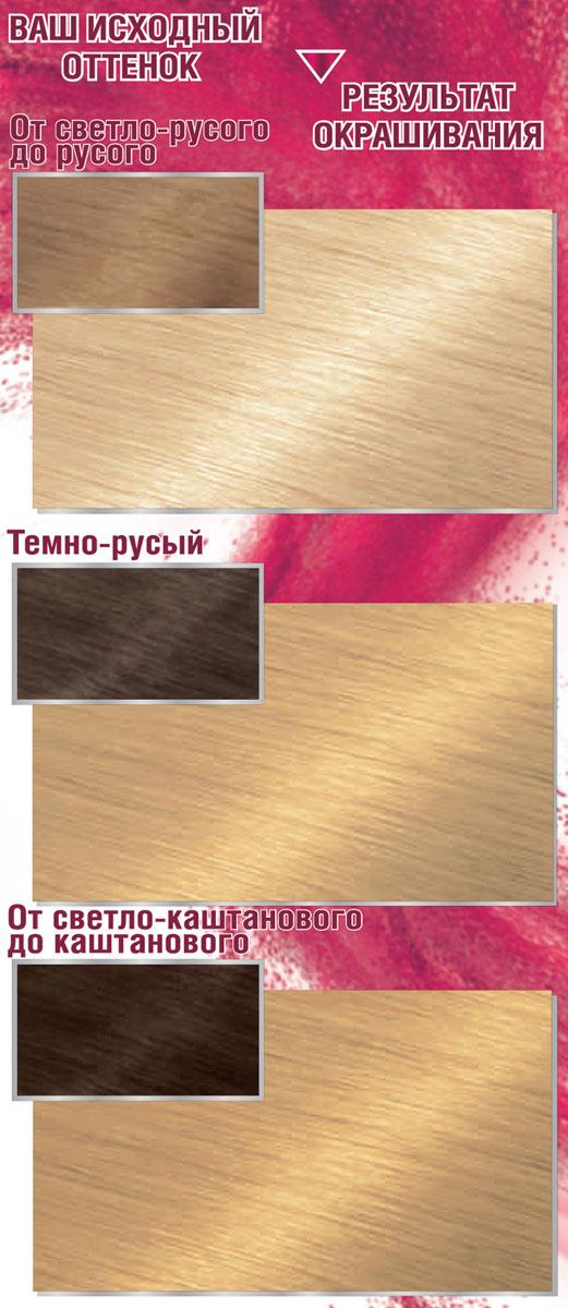 Garnier Стойкая крем-краска для волос Color Sensation, Роскошь цвета, оттенок E0, Ультра блонд, 110 мл