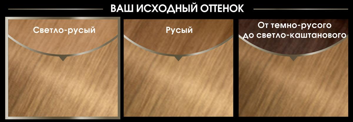 Garnier Стойкая крем-краска для волос Olia без аммиака, оттенок 8.13, Кремовый перламутровый, 160 мл