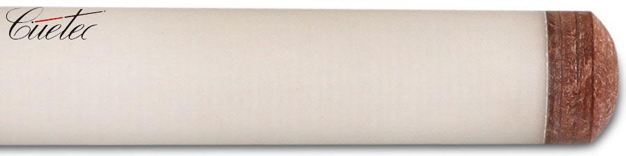 """Кий для русской пирамиды Cuetec """"R-805-2B"""", 2-составной, цвет: белый"""