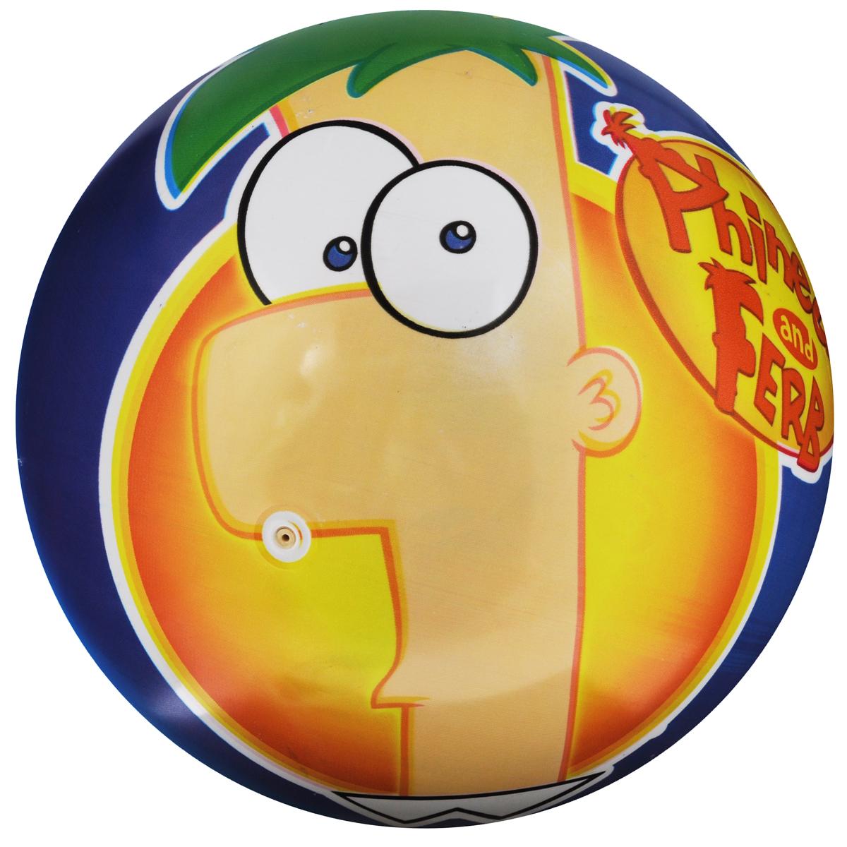 """Мяч Mondo """"Финес и Ферб"""", 25 см, в ассортименте"""