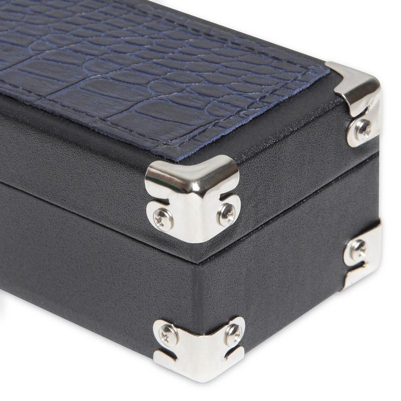 """Кейс для киев Fortuna """"Chester"""", 1 x 1, цвет: черный, темно-синий"""