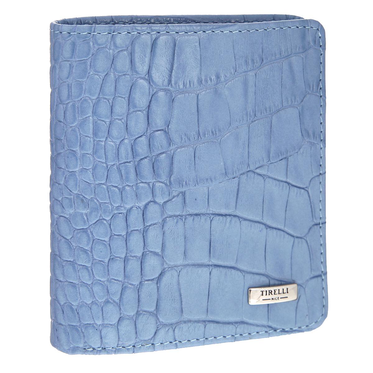 "Портмоне ""Tirelli"", цвет: голубой. 15-311-21 ( 15-311-21 )"