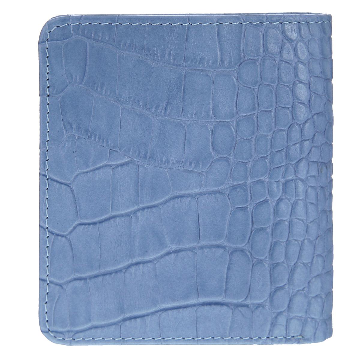 "Портмоне ""Tirelli"", цвет: голубой. 15-311-21"