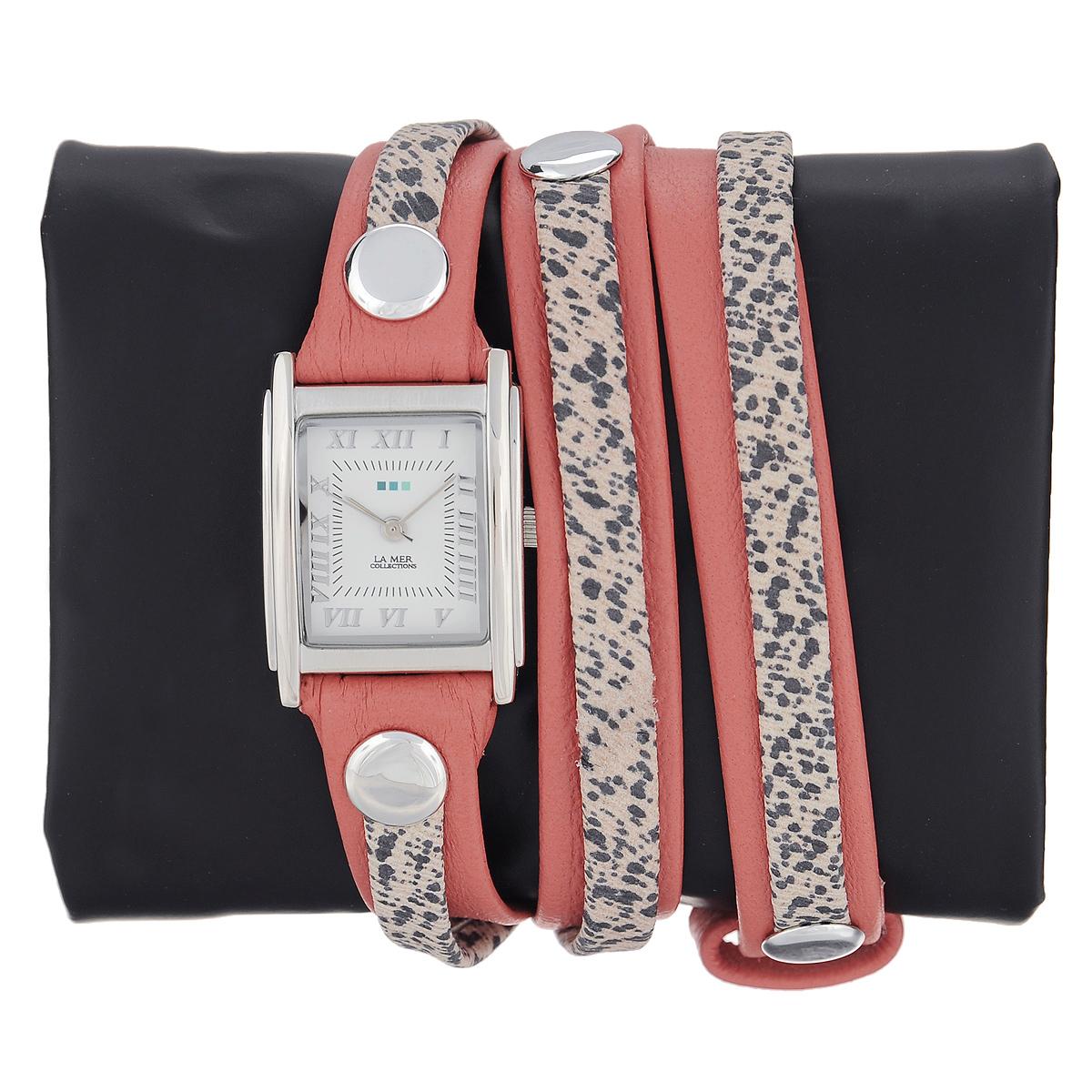 "Часы наручные женские La Mer Collections ""Layer Coral Paris"". LMLW7012x ( LMLW7012x )"