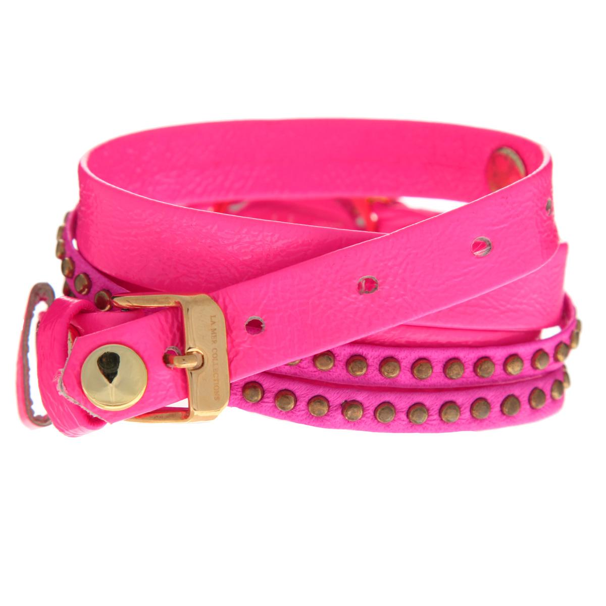 "Часы наручные женские La Mer Collections ""Bali Neon Pink"". LMSW4000 ( LMSW4000 )"