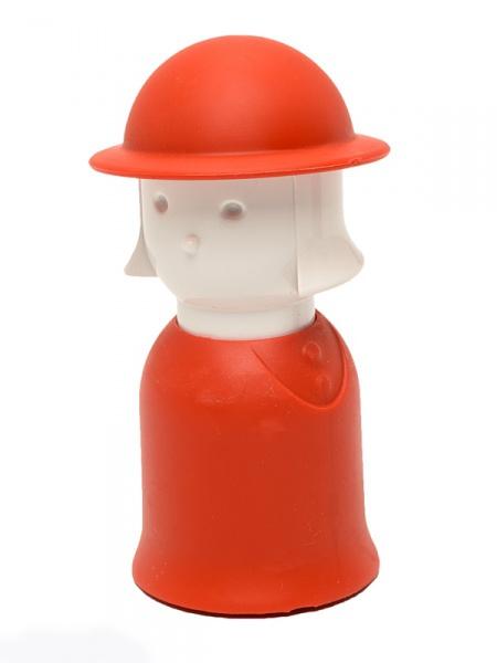"Набор для специй Qualy ""Mr. Pepper & Mrs. Salt"", цвет: красный, 2 предмета"