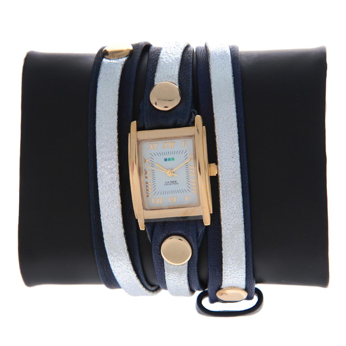 "Часы наручные женские La Mer Collections ""Simple Layer Navy -Metallic"". LMLW3003x ( LMLW3003x )"