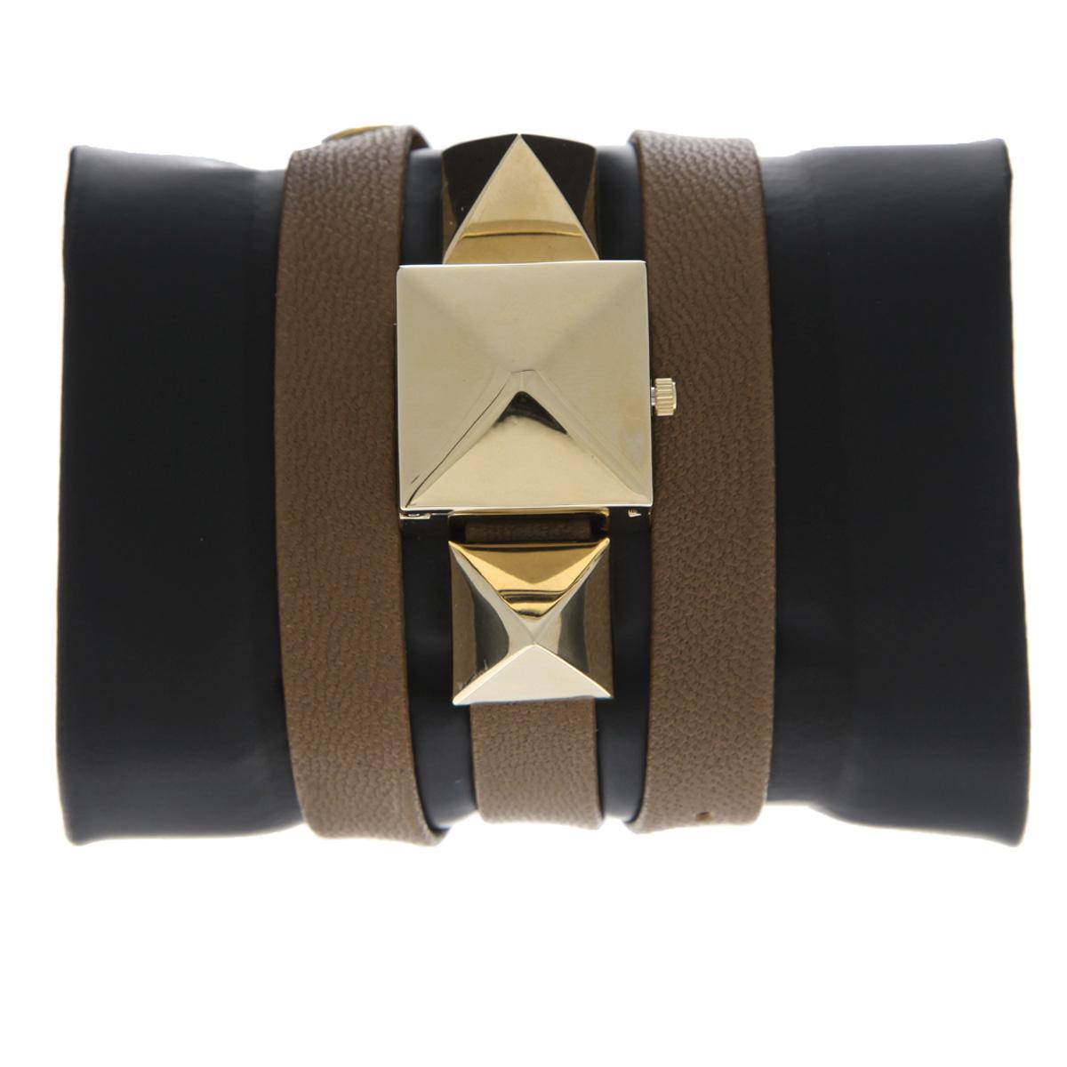 "Часы наручные женские La Mer Collections ""Pyramid Cairo Brown Gold"". LMPYRAMID001 ( LMPYRAMID001 )"