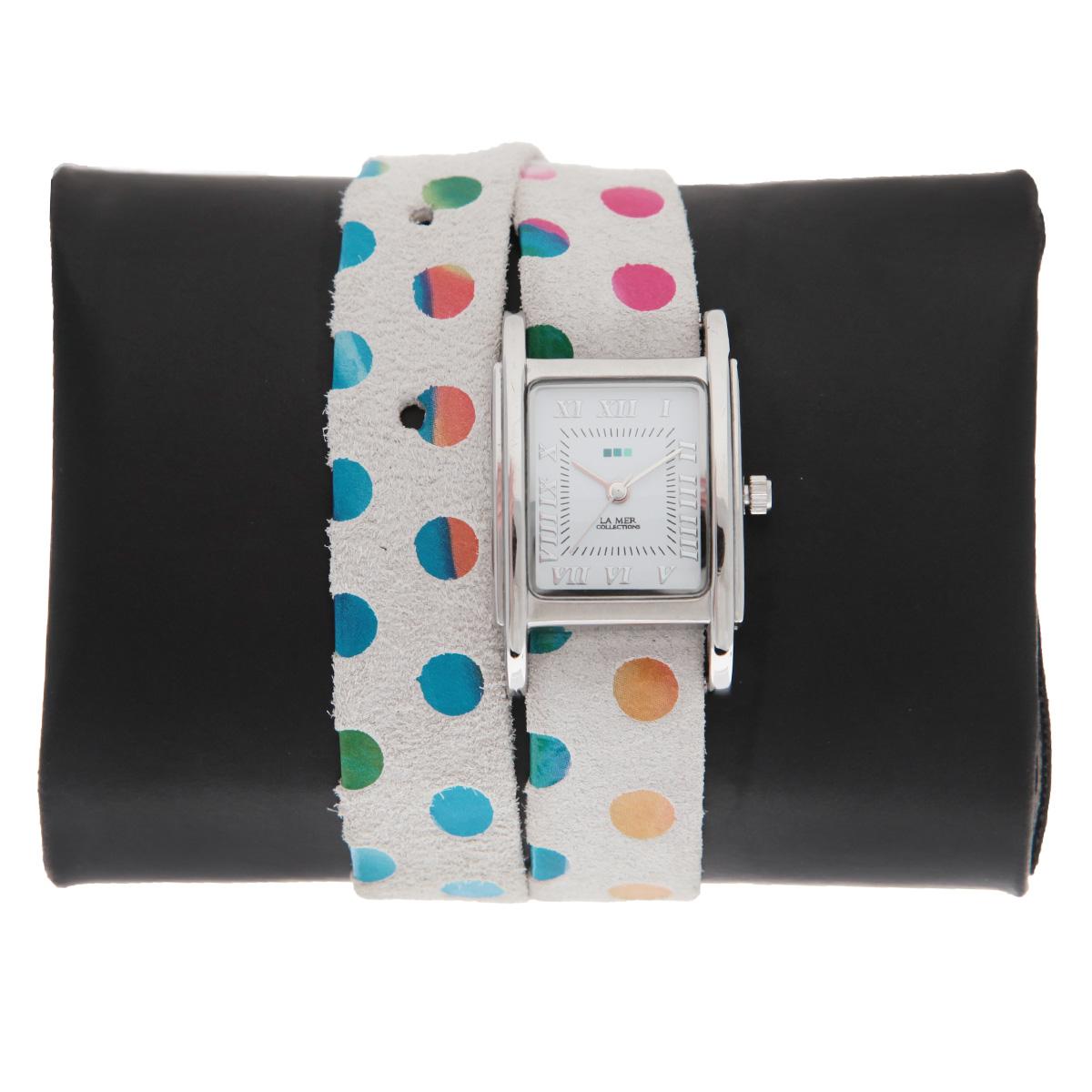 """Часы наручные женские La Mer Collections """"Simple Damin Polkadot"""". LMSTWEXL004 ( LMSTWEXL004 )"""