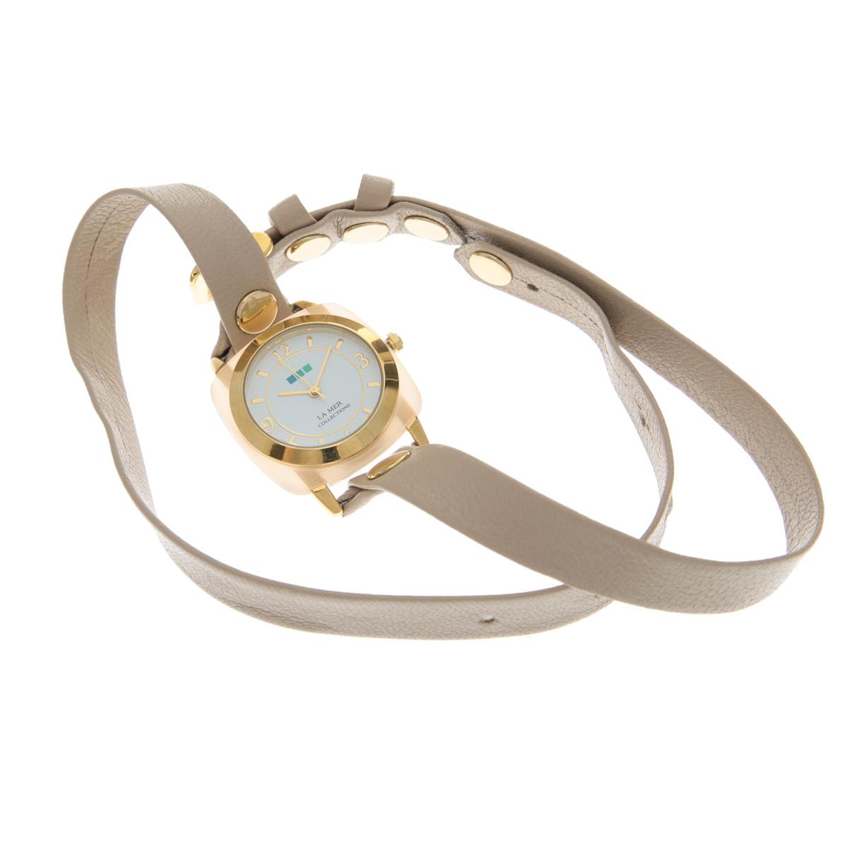 """Часы наручные женские La Mer Collections """"Stone Acetate Rose Quartz"""". LMACETATE003 ( LMACETATE003 )"""