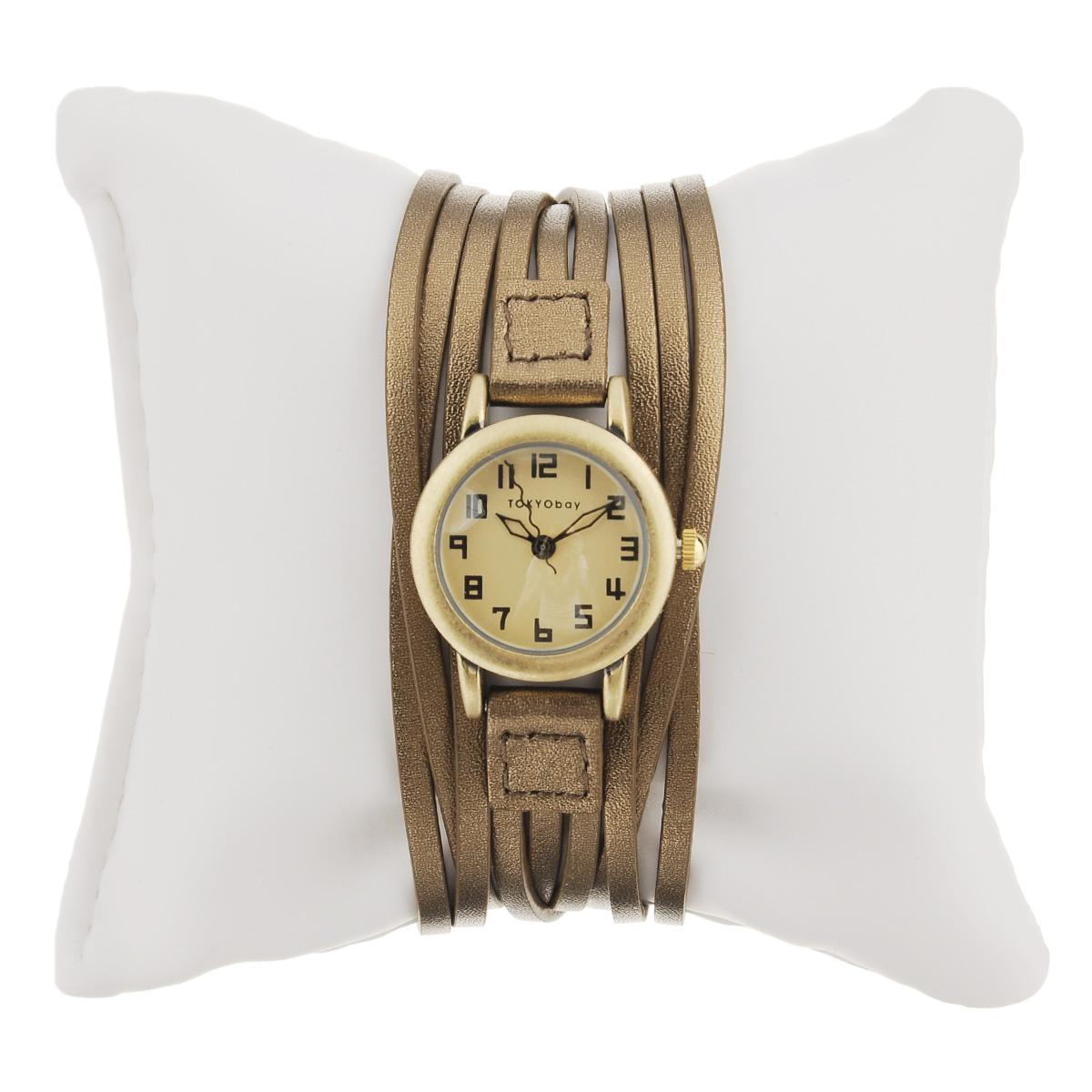 "Часы женские наручные Tokyobay ""Gaucho"", цвет: бронзовый. T432M-BZ ( T432M-BZ )"