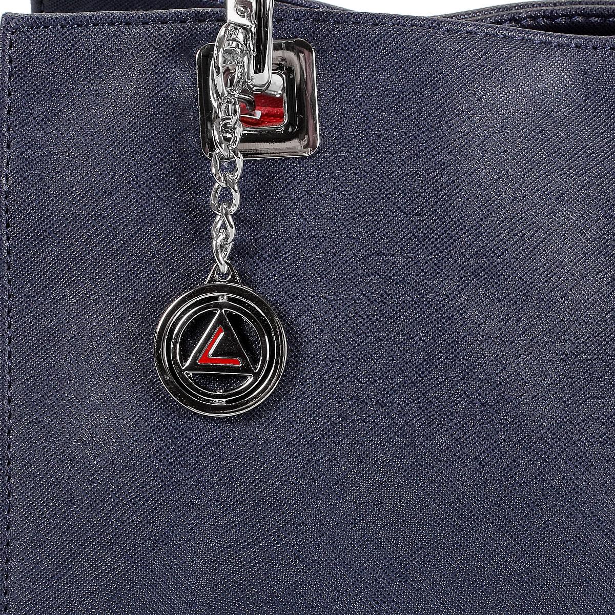 Сумка женская Leighton, цвет: синий, красный. 560299-3769 ( 560299-3769/4/3769/16 )