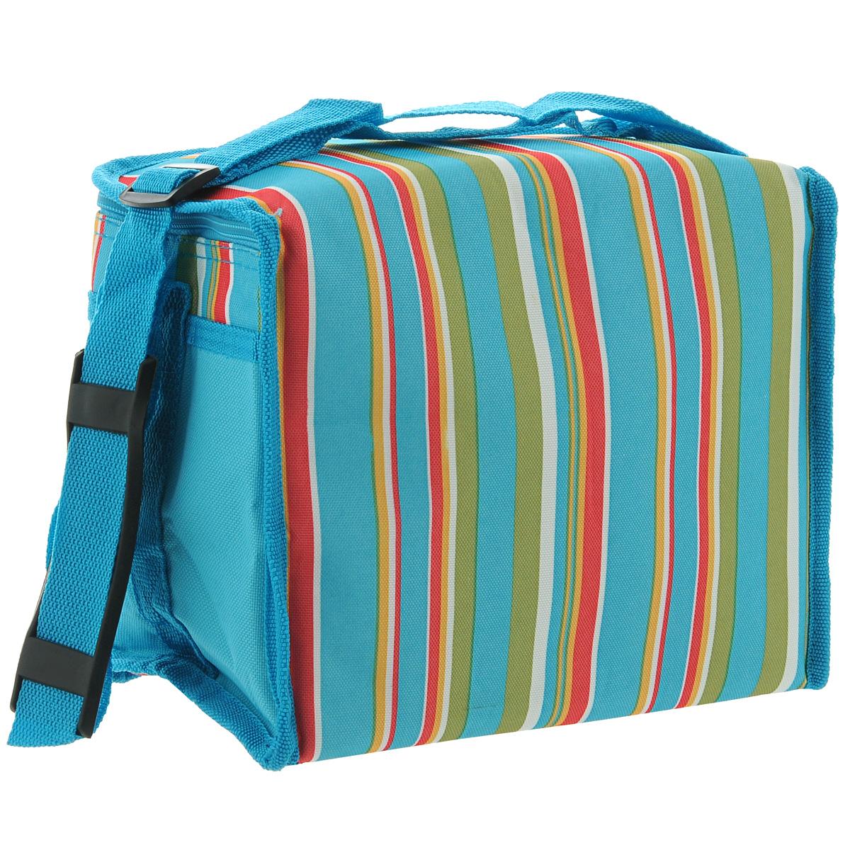 "Термосумка ""Green Glade"", цвет: голубой, 7 л. P2007 ( P2007 )"