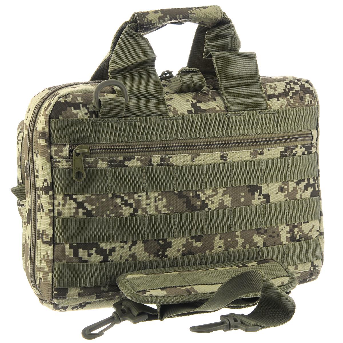 Сумка для оружия Fieldline Shooters Bag, цвет: хаки, 12 л540100019Сумка для оружия Fieldline Shooters Bag выполнена из прочного полиэстера. Она имеет большое основное отделение на застежке-молнии с двумя бегунками, внутри которого имеется множество карманов. Спереди и сзади расположено по одному вместительному карману. Сумка оснащена ручками и регулируемым по длине плечевым ремнем.