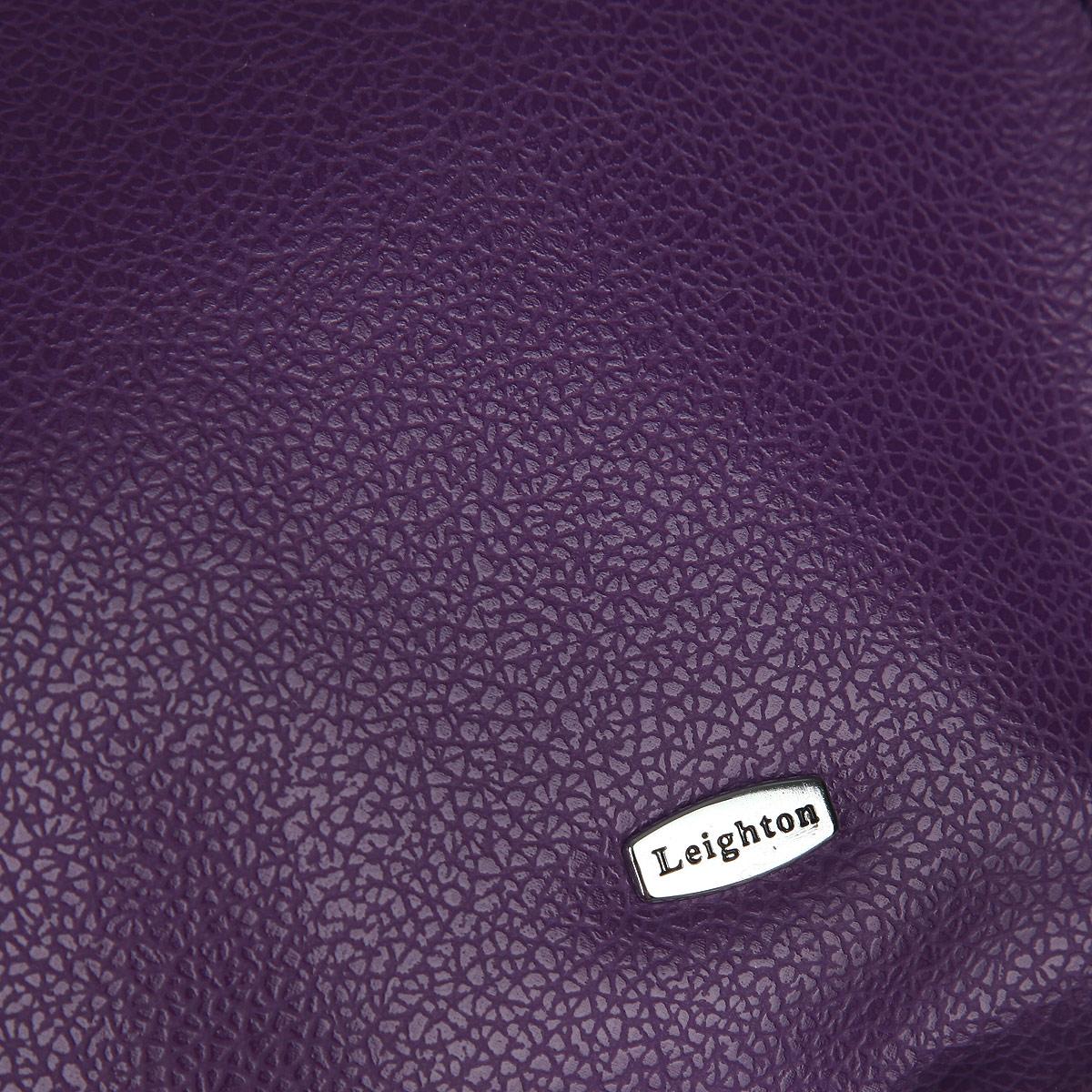 Сумка женская Leighton, цвет: сиреневый, черный. 82707-1185/301/101 ( 82707-1185/301/101 )