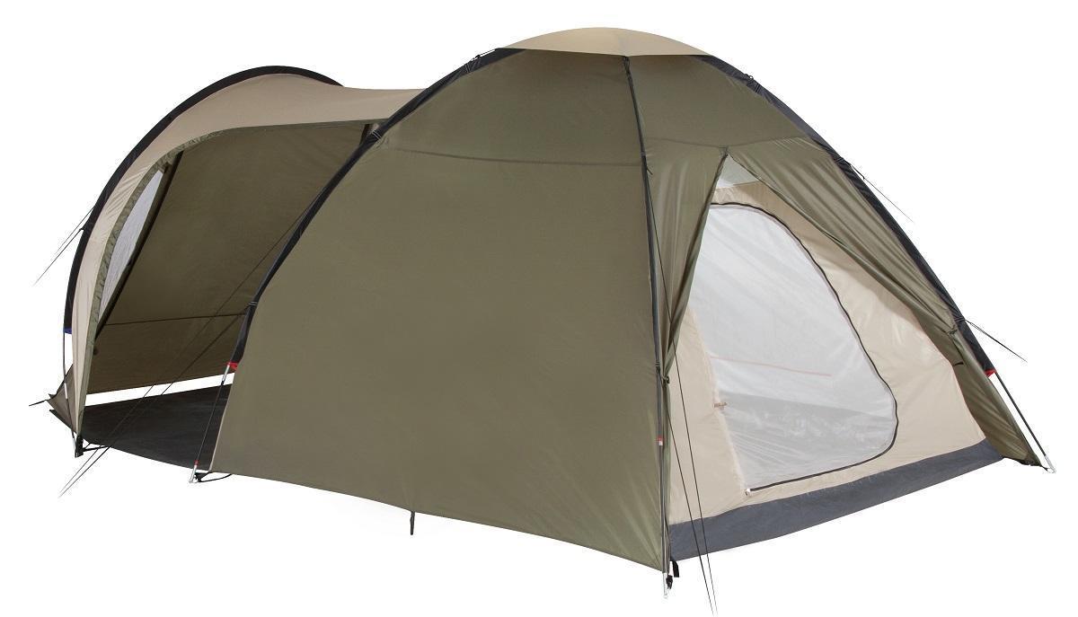 Палатка пятиместная TREK PLANET Atlanta Air 5, цвет: св.хаки/хаки