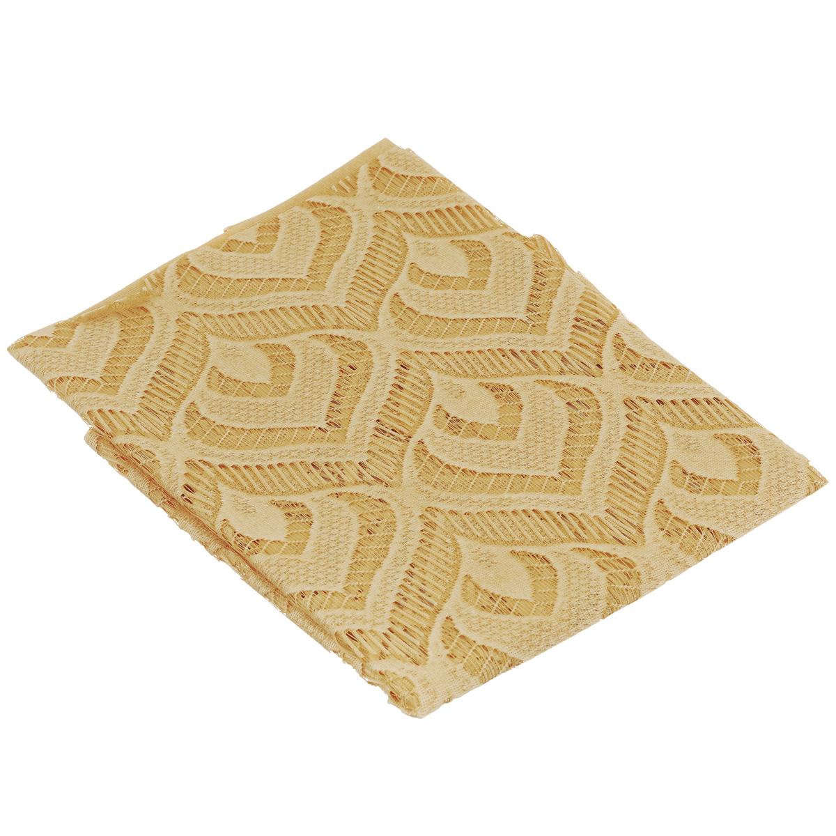 """Гардина-панно Wisan """"Mozaika"""", на кулиске, цвет: желтый, высота 240 см ( 711147 )"""