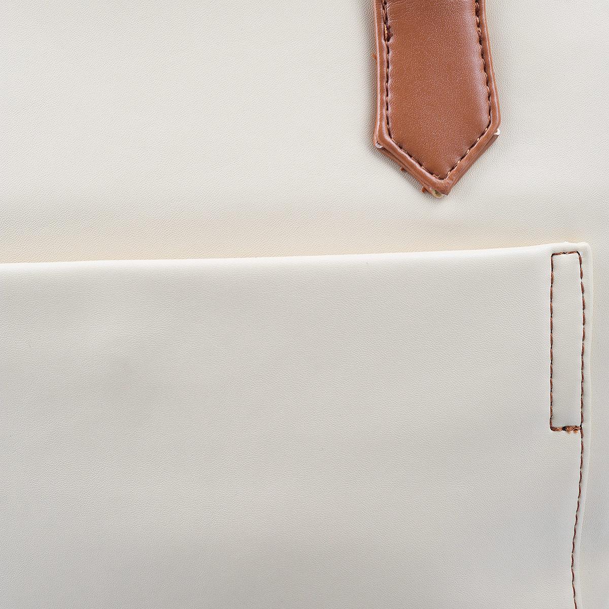 Сумка женская Leighton, цвет: бежевый, коричневый. 10870-082/905/082/840 ( 10870-082/905/082/840 )