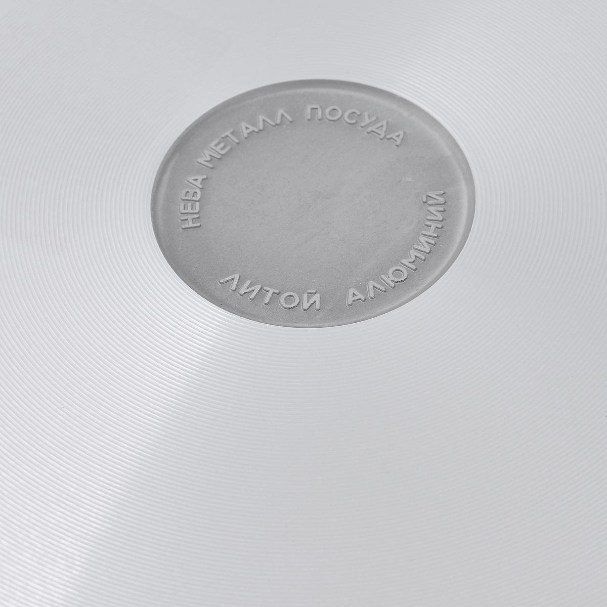 """Сковорода """"НМП"""" с крышкой, с антипригарным покрытием. Диаметр 28 см"""