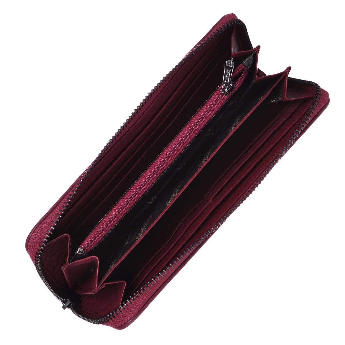 Кошелек женский Malgrado, цвет: темно-красный, бордовый. 73005-40302 ( 73005-40302# Red )