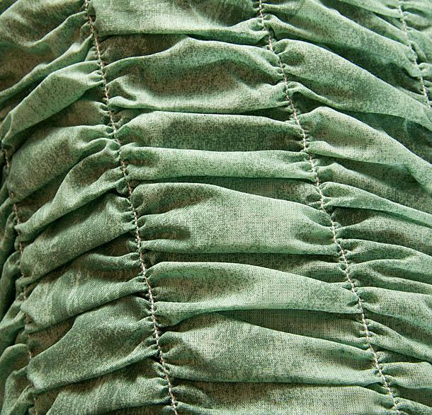 """Чехол на 3-х местный диван Еврочехол """"Фантазия"""", цвет: зеленый, 160-220 см"""