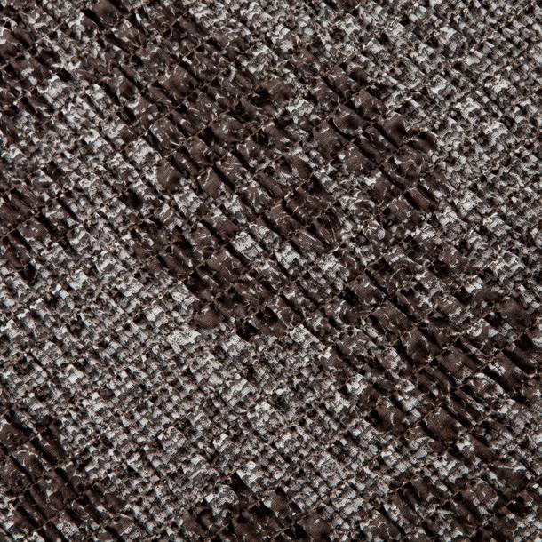 """Чехол на 2-х местный диван Еврочехол """"Плиссе"""", цвет: коричневый, светло-серый, 100-150 см ( 7/55-2 )"""