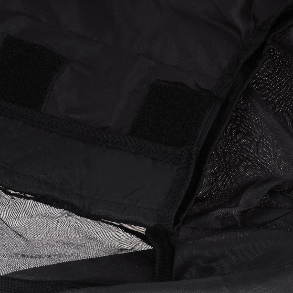 """Чехол защитный для чемодана """"Eva"""", цвет: черный, 62 см х 42 см х 28 см ( К44 )"""