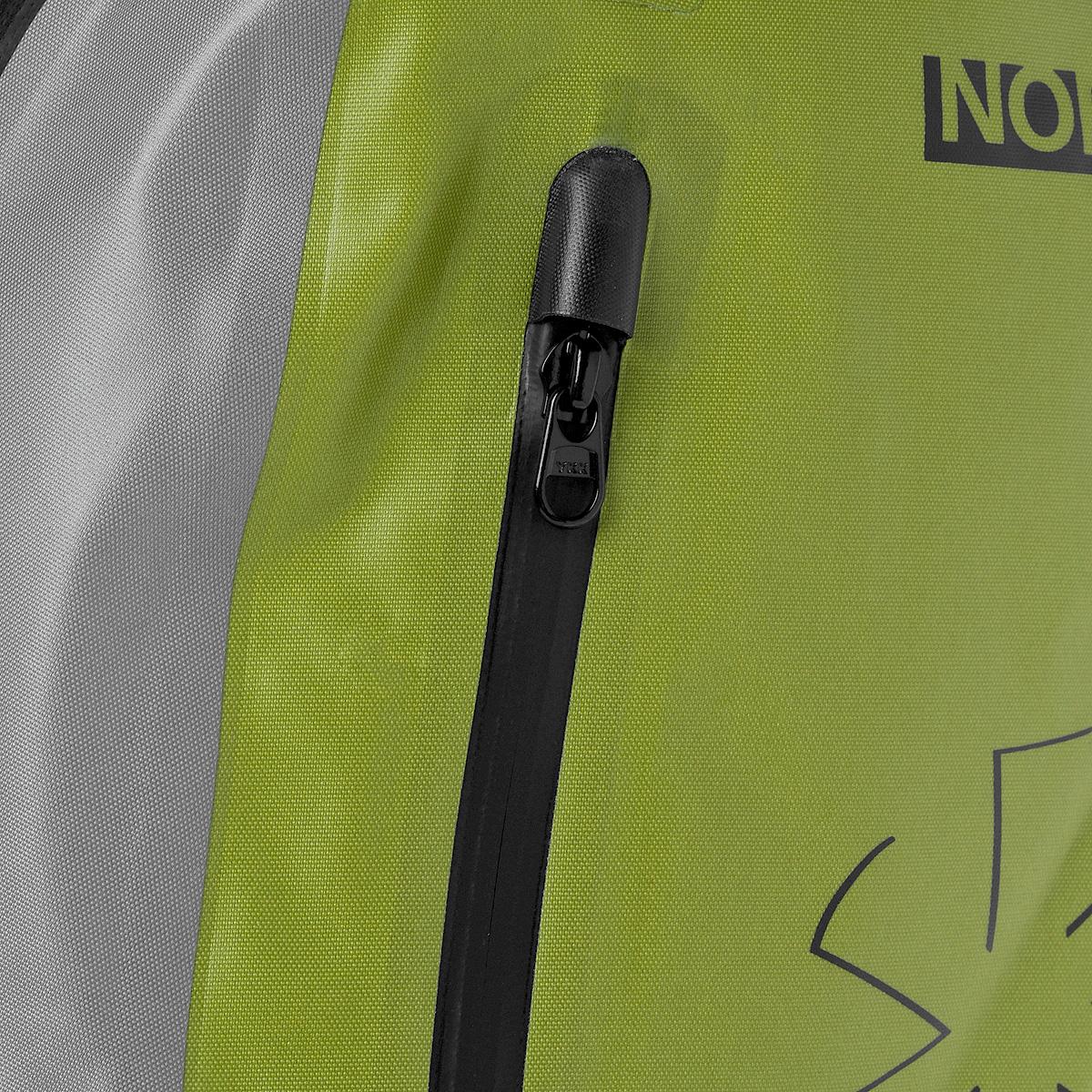 """Рюкзак городской Norfin """"Dry Bag"""", цвет: серый, неоновый желтый, 25 л ( NF-40302 )"""