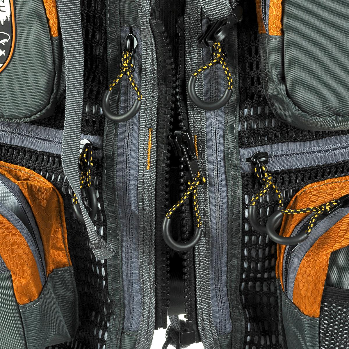 """Рюкзак Adrenalin Republic """"Backpack Twin"""", с передним обвесом, цвет: оранжевый, серый, 15 л + 10 л"""