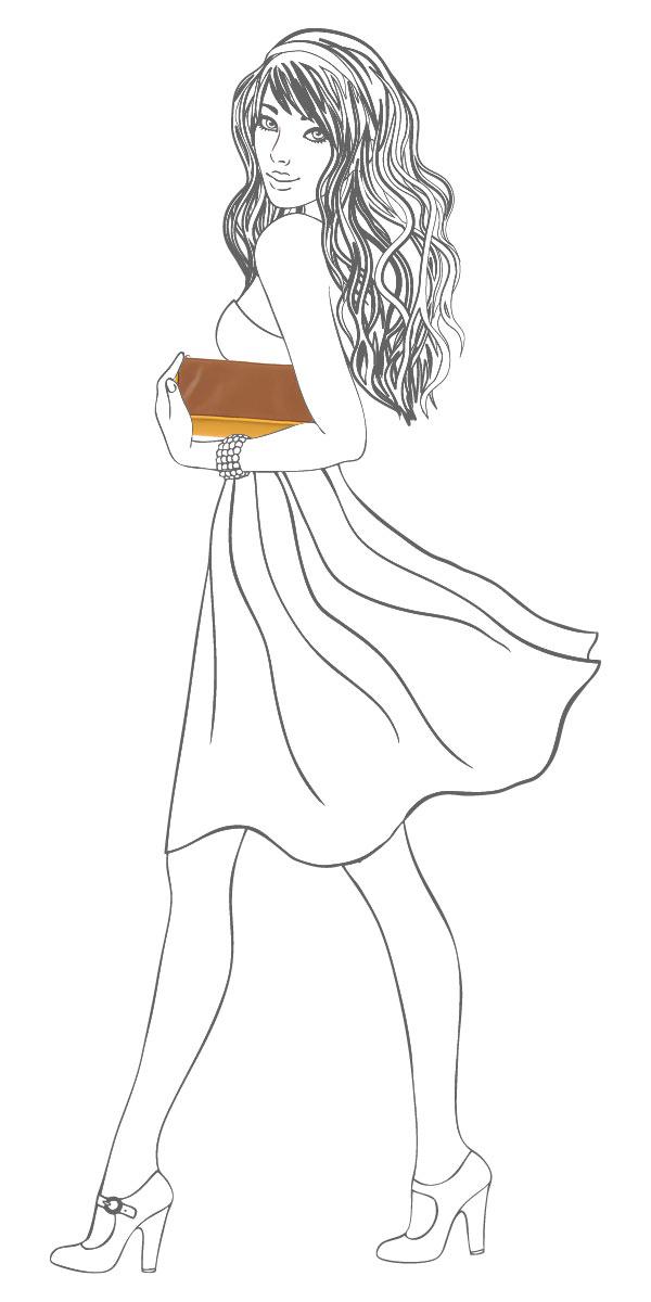 Клатч Leighton, цвет: желтый, коричневый. 4001-082/335/082/840 ( 4001-082/335/082/840 жел/ )