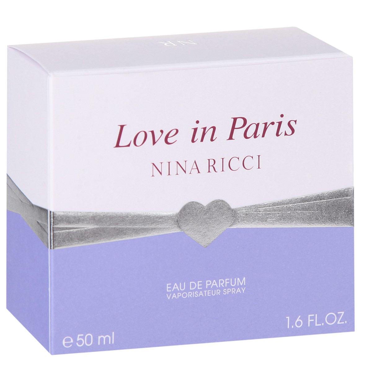 Nina Ricci Love In Paris. Парфюмированная вода, 50 мл (новая упаковка)