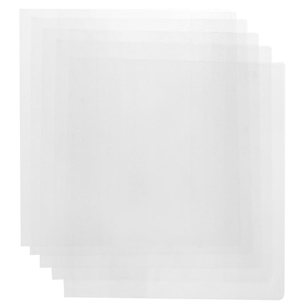 Набор обложек для контурных карт и атласов `Брупак`, 30 см х 56 см, 5 шт