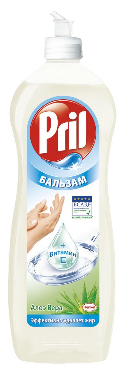 Средство для мытья посуды Pril Бальзам Алоэ Вера, 900 мл904075Средство для мытья посуды Pril Бальзам Алоэ Вера эффективно удаляет жир с посуды и одновременно бережно заботится о коже рук. Состав: 5-15% анионные ПАВ, Товар сертифицирован.