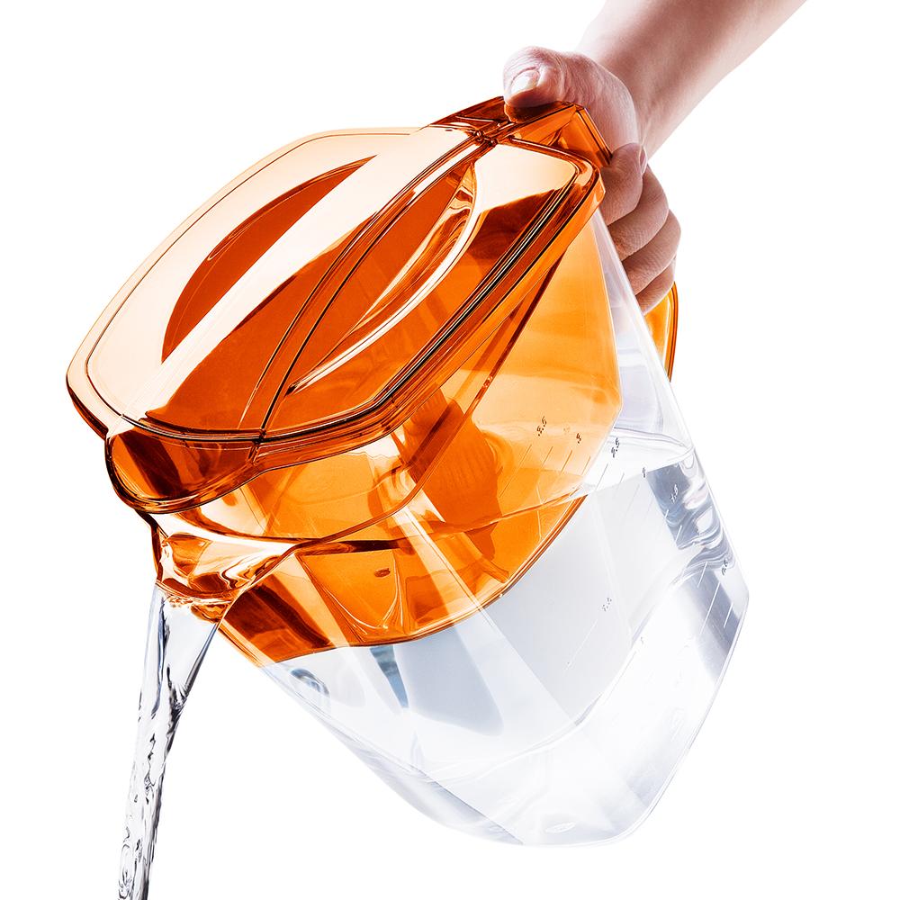 """Фильтр-кувшин для воды Барьер """"Гранд"""", цвет: оранжевый"""