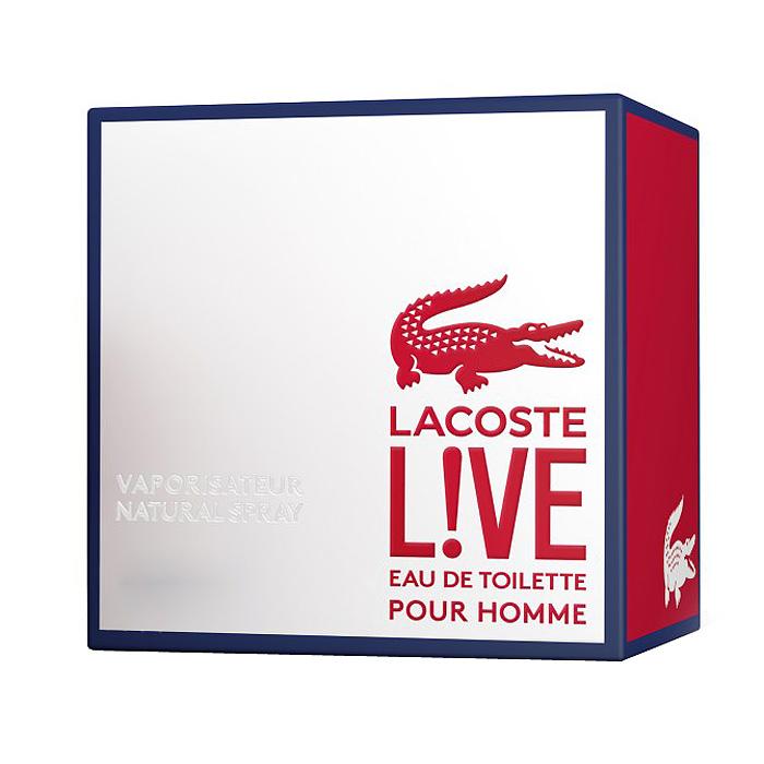Lacoste Lacoste L!VE Туалетная вода мужская, 60 мл