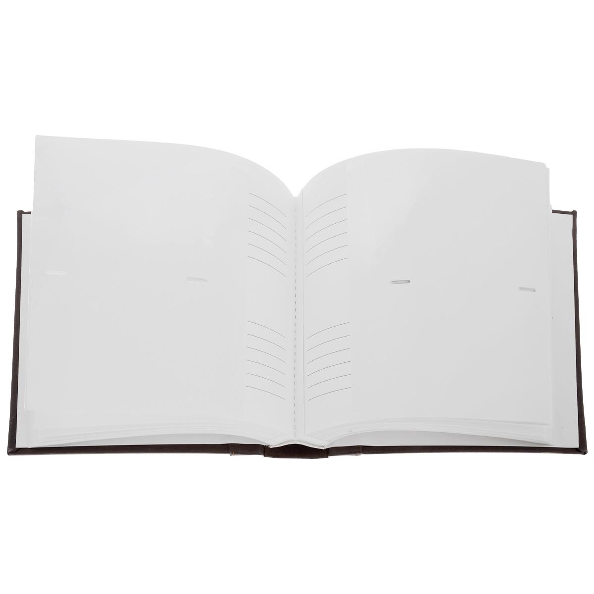 "Фотоальбом Image Art ""Классика"", 200 фотографий, 10 x 15 см, цвет: баклажан"