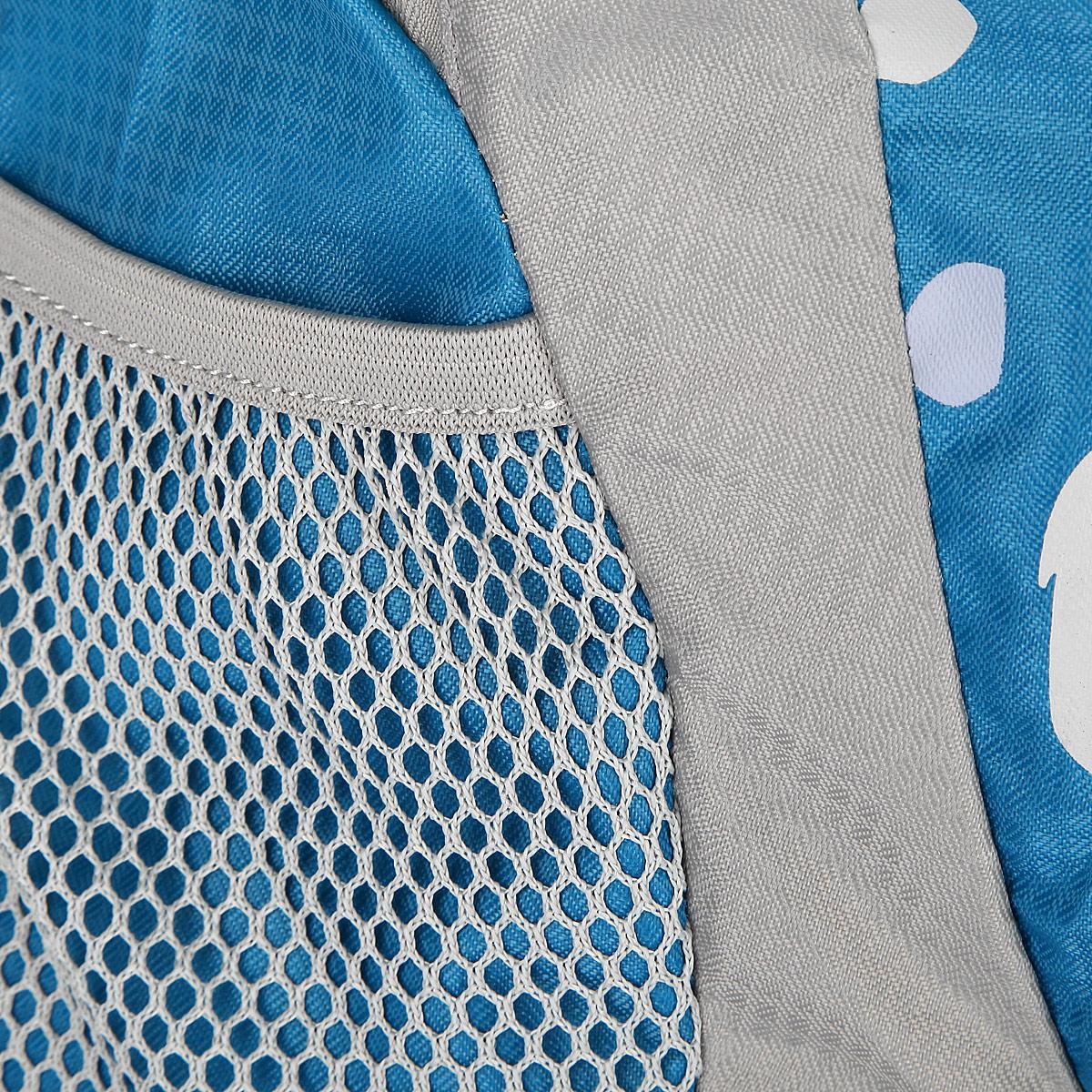 """Рюкзак городской Nova Tour """"Клауд 20"""", цвет: серый, синий. 13392-462-00 ( 13392-462-00 )"""