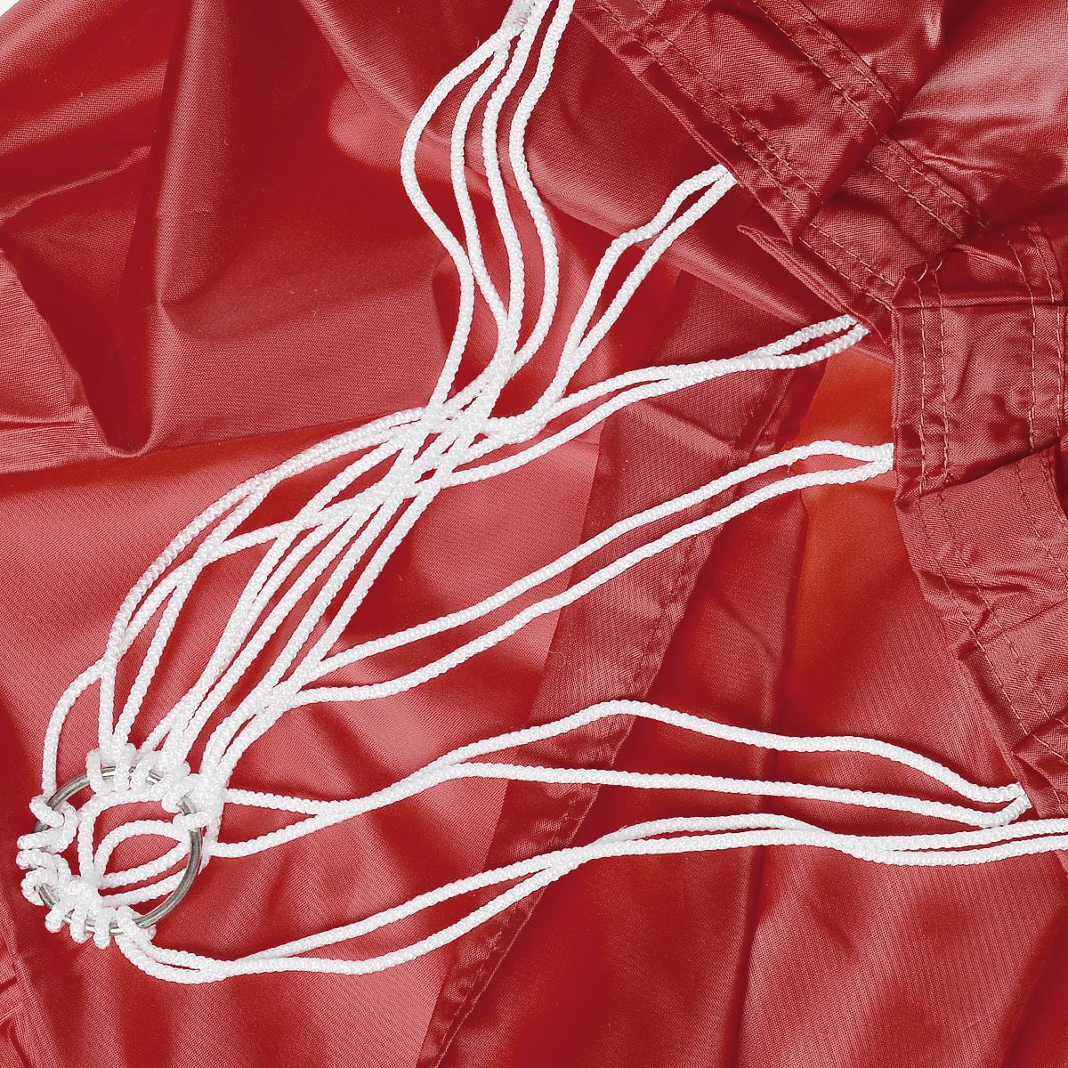 "Гамак ""Eva"", на кольцах, цвет: красный, 145 х 200 см"