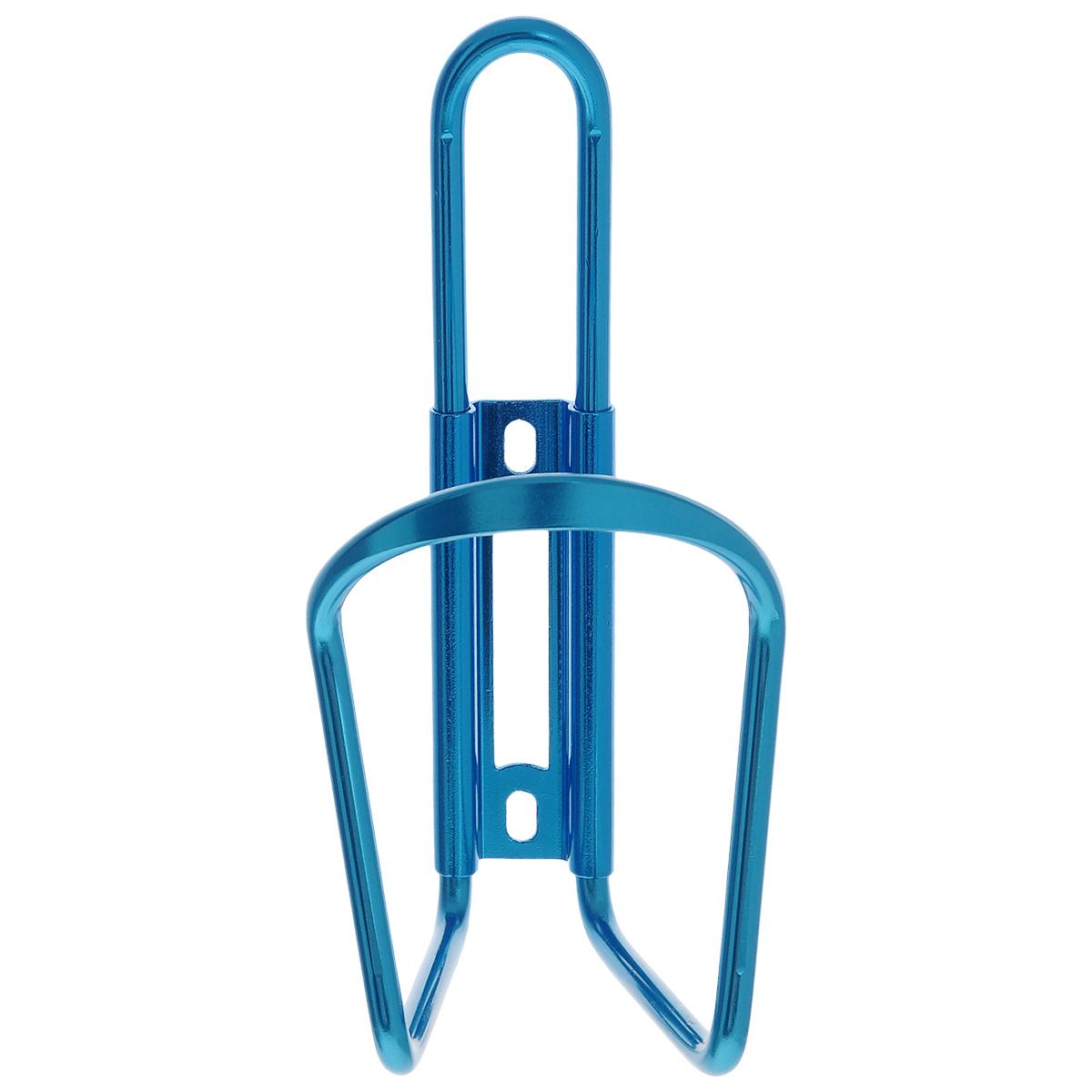Флягодержатель Larsen, цвет: синийH20BHАлюминиевый флягодержатель Larsen, способный удерживать не только велофлягу, но и обычные пластиковые бутылки, закрепляется на раме велосипеда. Это незаменимая вещь для спортсменов и любителей длительных велосипедных прогулок. Благодаря держателю, фляга с водой будет у вас всегда под рукой. Держатель подходит для бутылок объемом от 0,5 л до 1 л и диаметром 6-10 см.