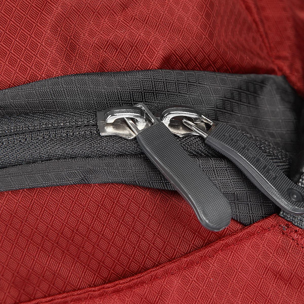 """Рюкзак городской Husky """"Sharp 13L"""", цвет: красный, серый"""
