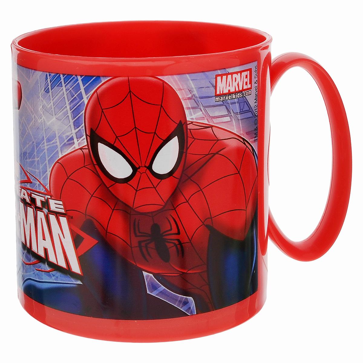 "Кружка Marvel ""Spider-Man"", цвет: красный, 350 мл"