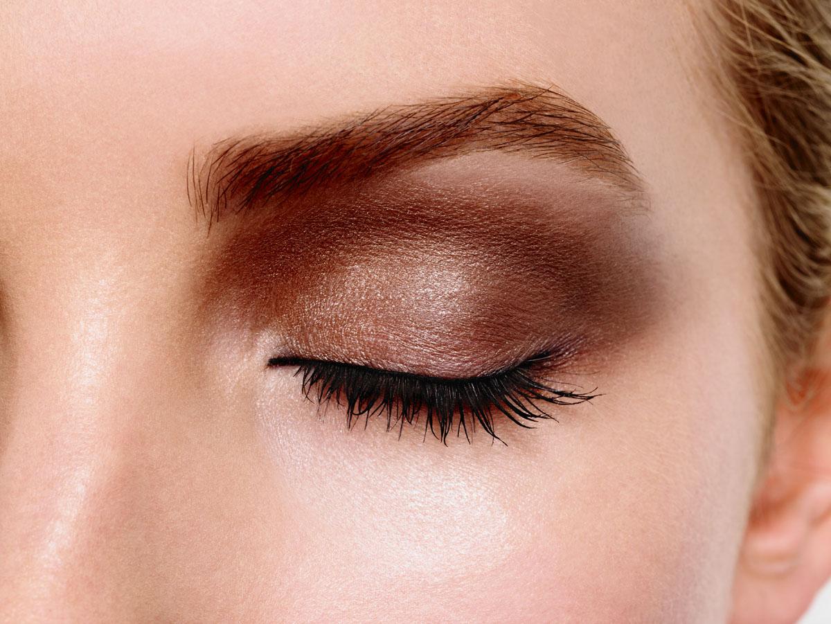 Max Factor 4-хцветные тени для век и бровей Smokey Eye Drama Kit 2 В 1, тон 01 opulent nudes