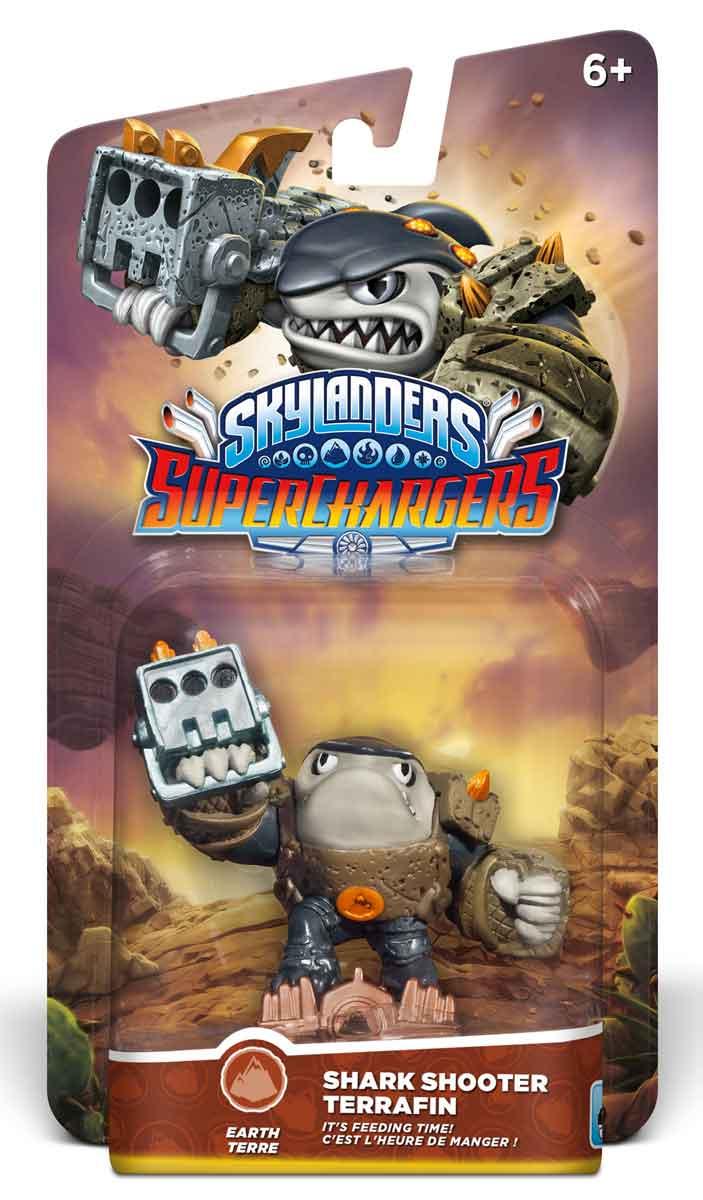 Skylanders SuperChargers. Shark Shooter Terrafin