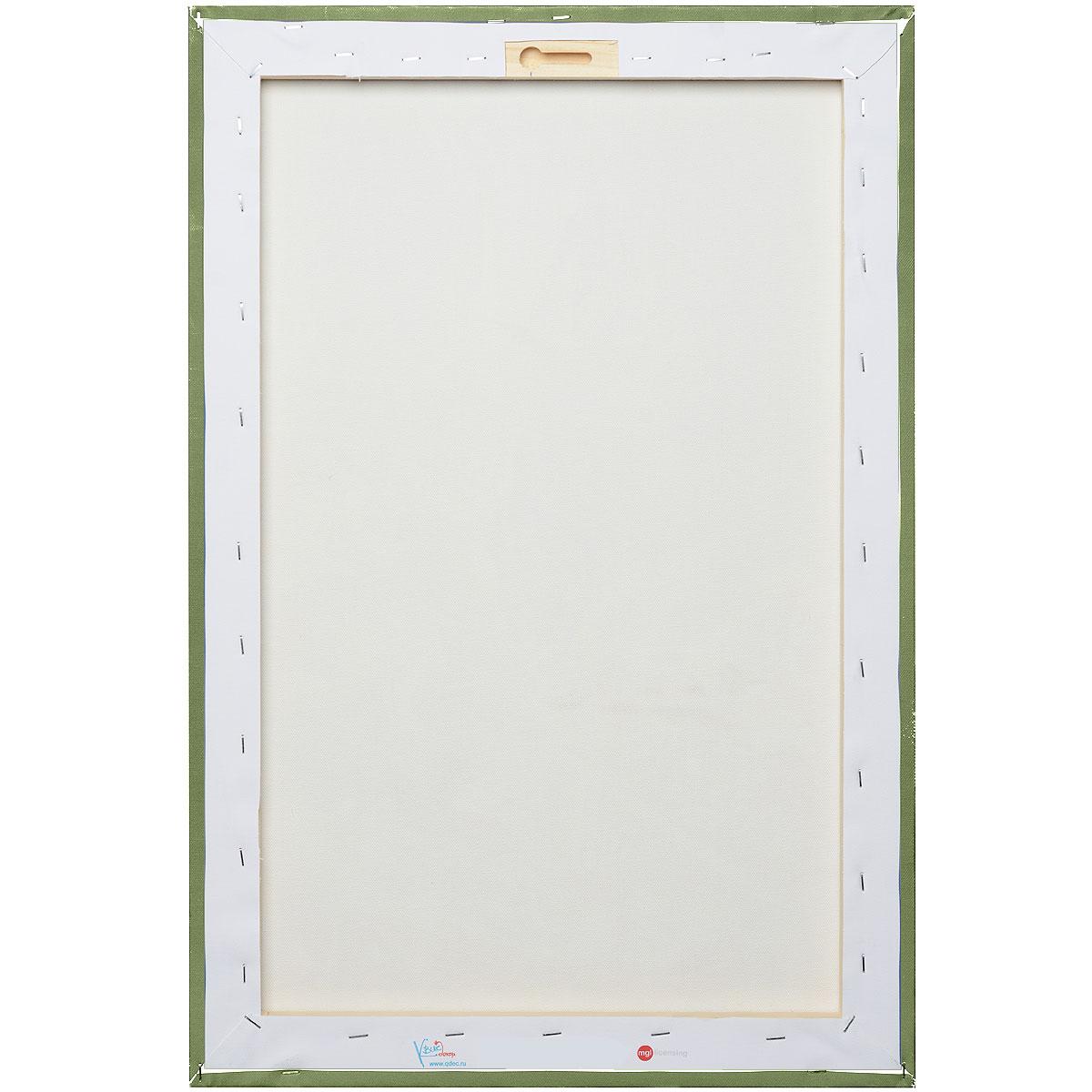 """КвикДекор Картина на холсте """"Золушка и принц"""", 70 см х 50 см"""