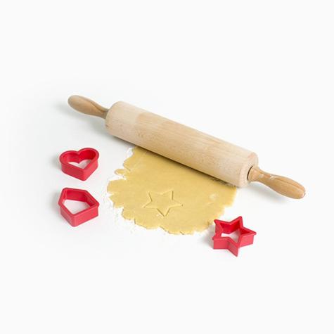 """Набор формочек для печенья """"Brabantia"""", цвет: красный, 3 шт"""
