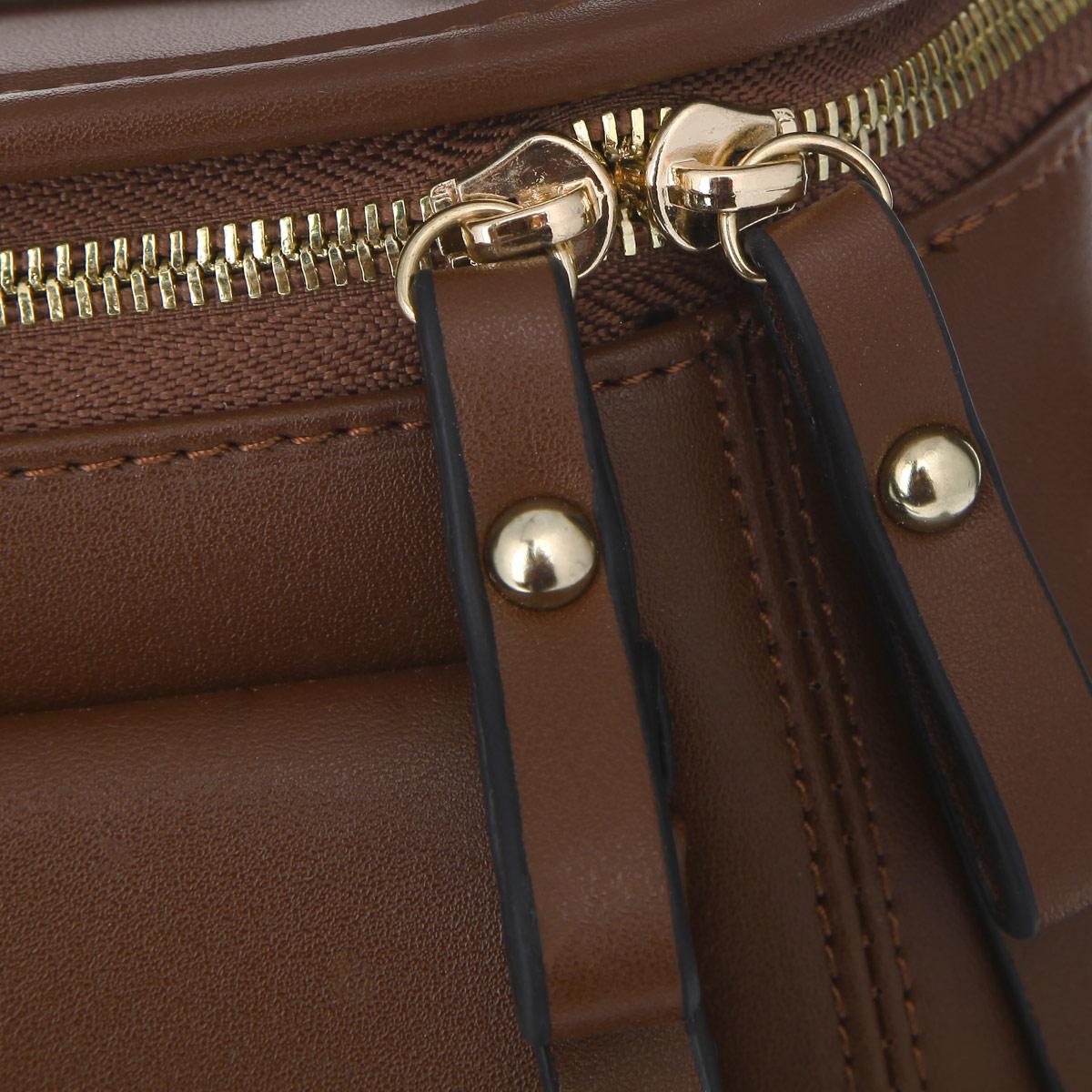 Сумка женская Leighton, цвет: коричневый. 3085 ( 3085 коричн )