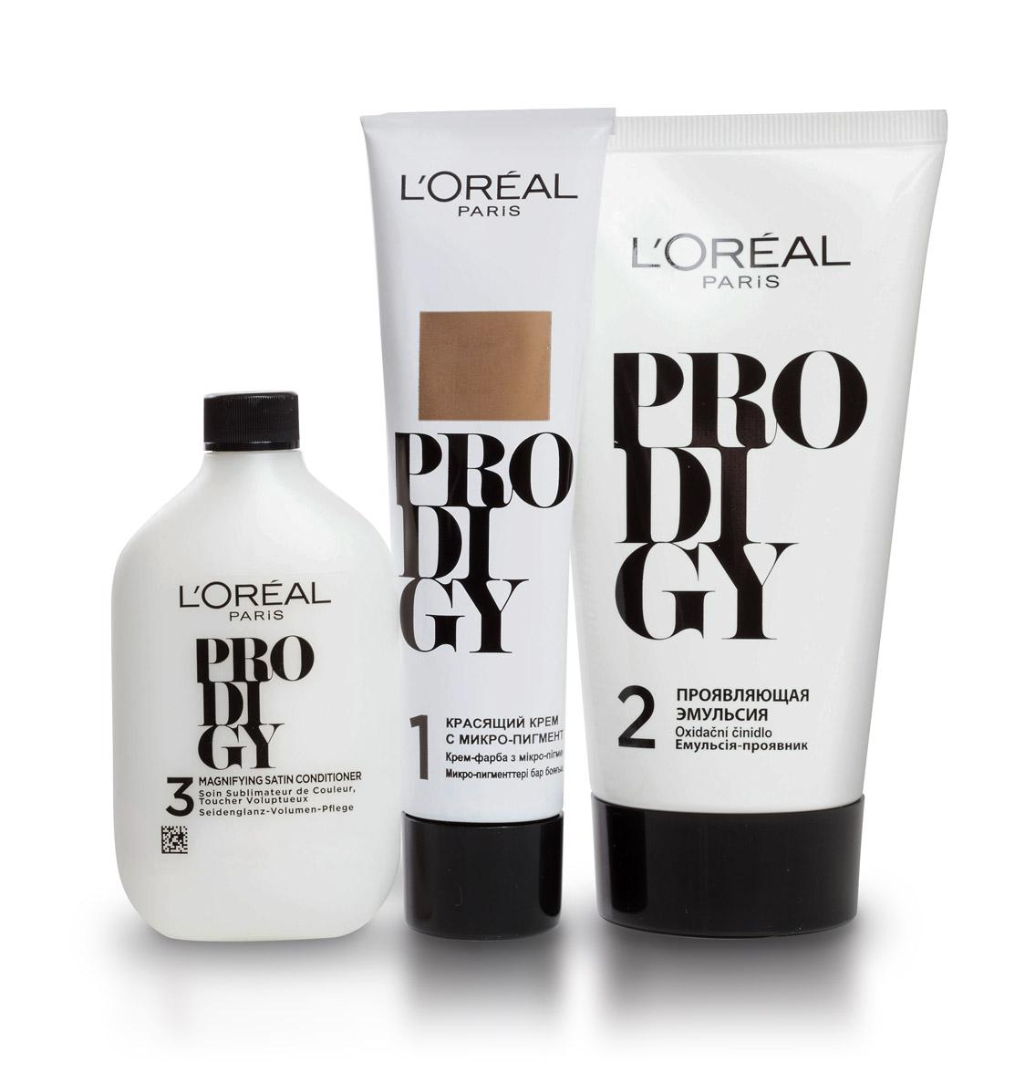 LOreal Paris Краска для волос Prodigy, оттенок 7.1, Серебро, 265 мл