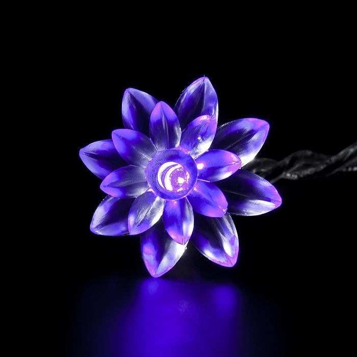 """Гирлянда электрическая Lunten Ranta """"Цветок"""", 16 микроламп, длина 2,85 м"""